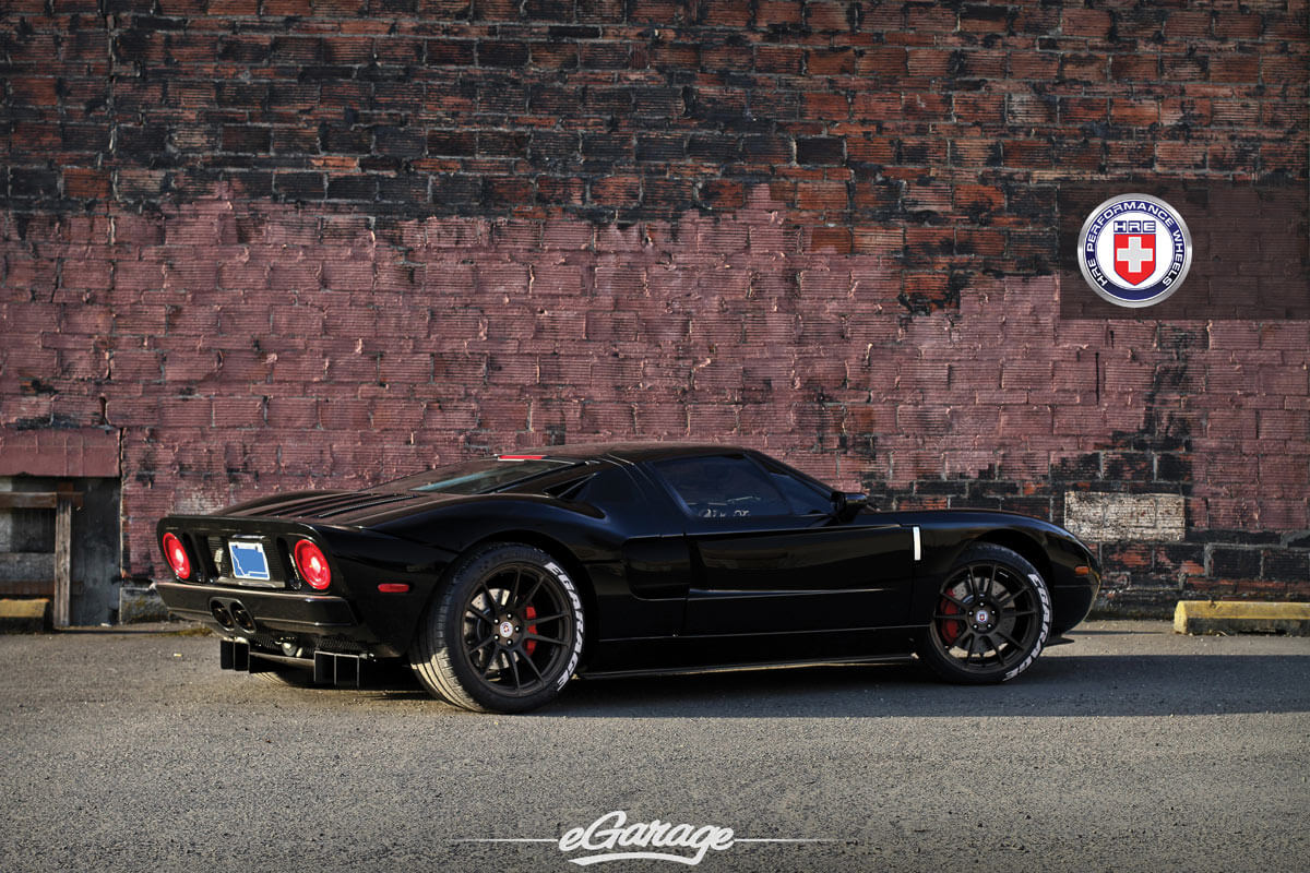 Ford GT with P44SC in Satin Bronze | HRE Performance Wheels
