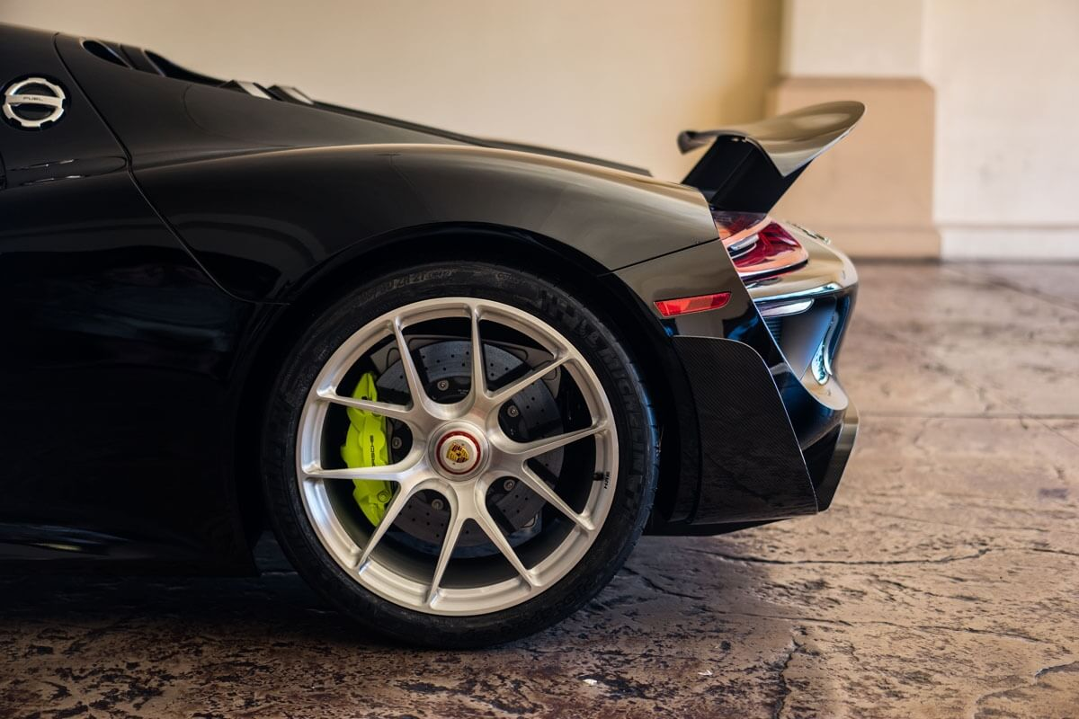 Porsche 918 Spyder with HRE P101 in Brushed Clear | HRE ...