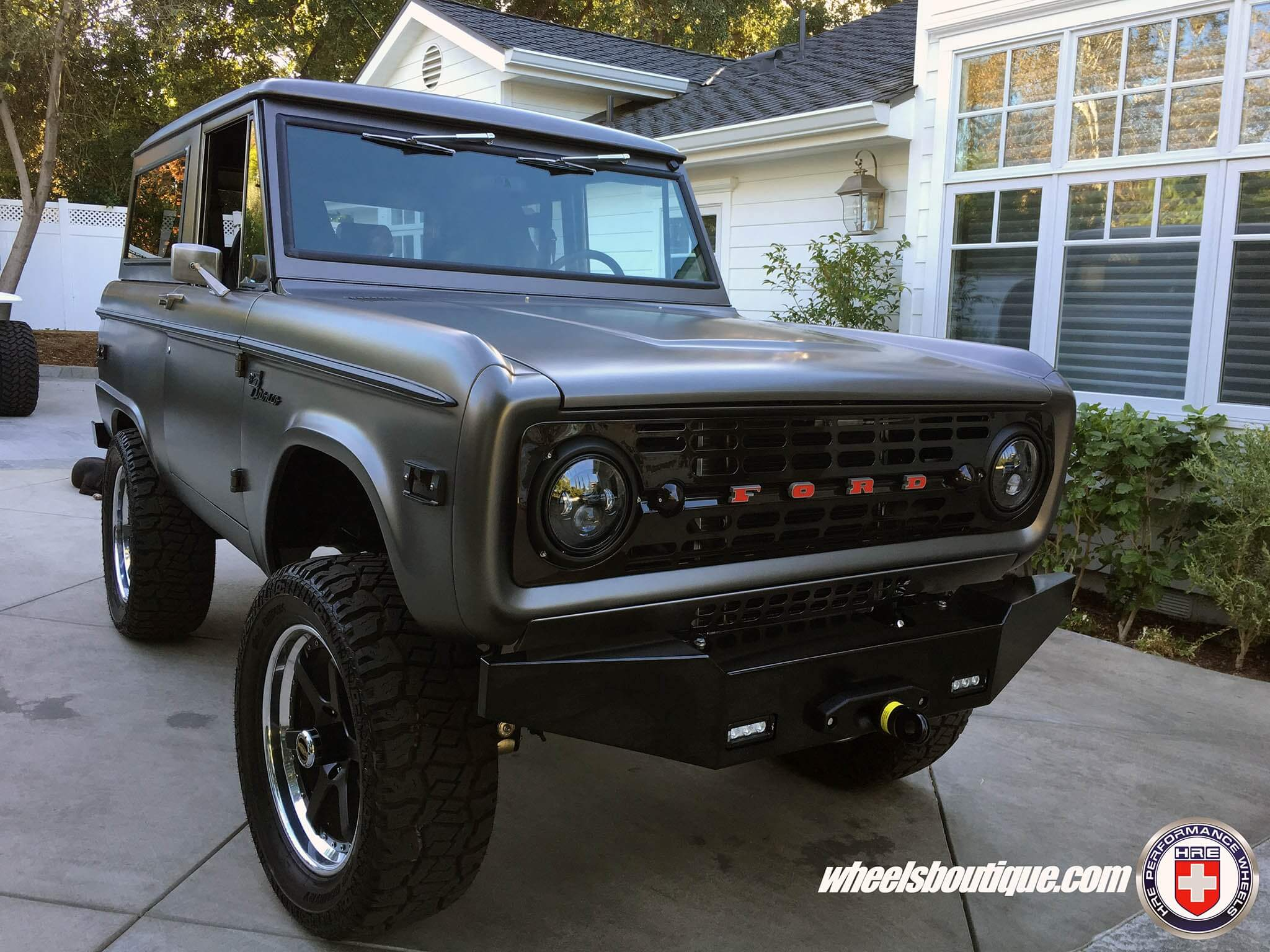 Ford Bronco With HRE C106 In Satin Black