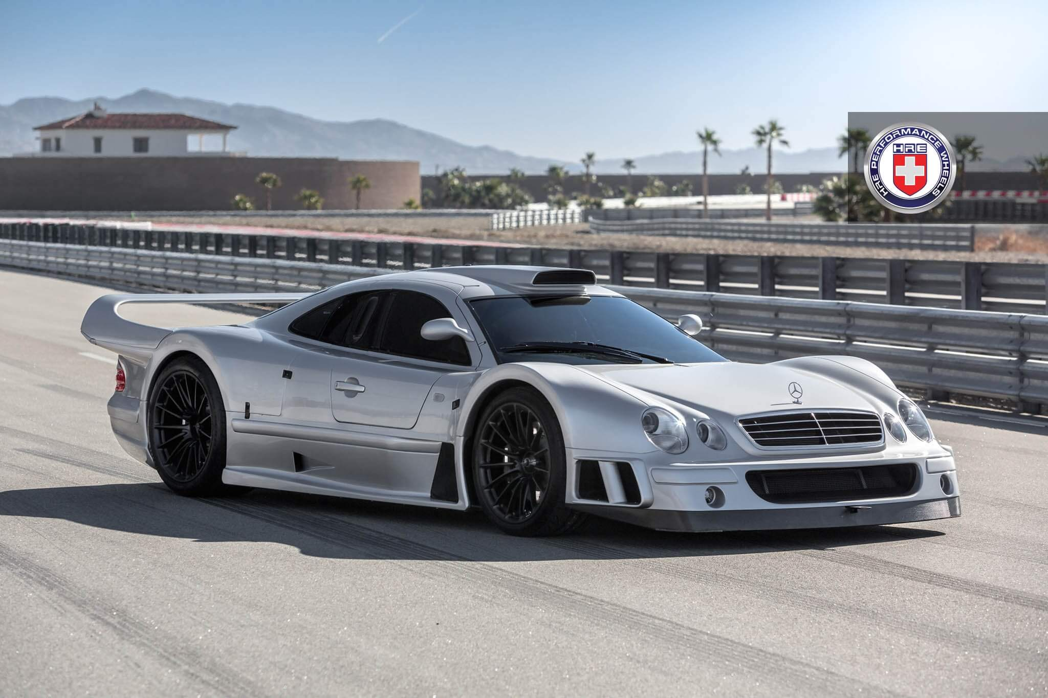 mercedes benz clk gtr with hre p103 in satin black hre performance wheels