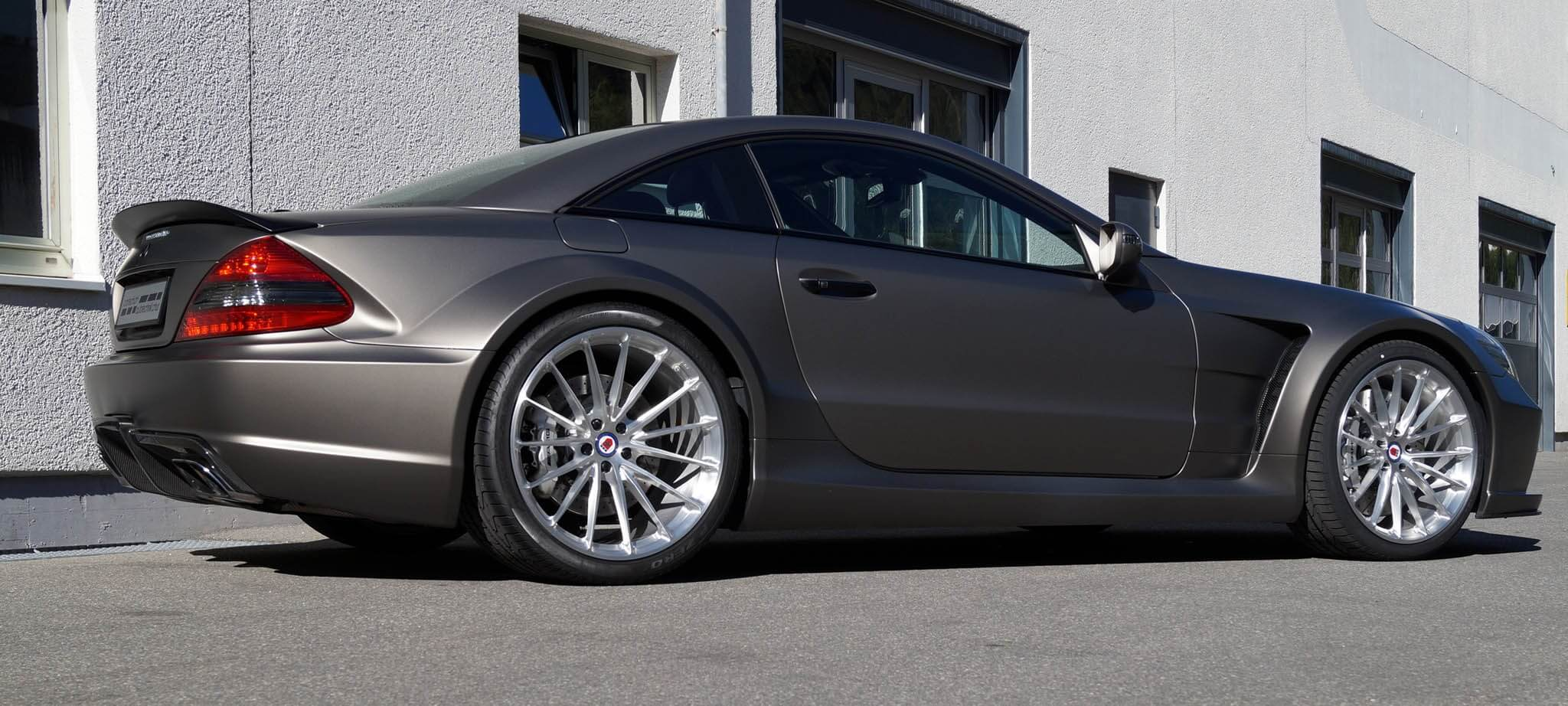 All Types amg black series wheels : Pewter Silver Mercedes-Benz SL65 AMG Black Series with HRE P103 in ...
