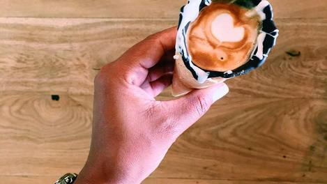 Café na casquinha