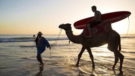 Surfe em Marrocos