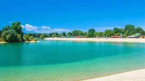 Lago Jarun em Zagreb