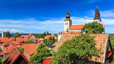 Visby é um refúgio muito adorado pelos suecos
