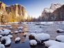 Enfrente o frio das melhores paisagens de inverno dos EUA
