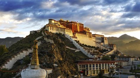 Palácio Potala, Tibete