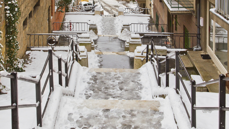 Neve em Budapeste: que delícia!