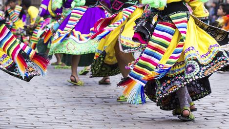 Dança tradicional do Peru