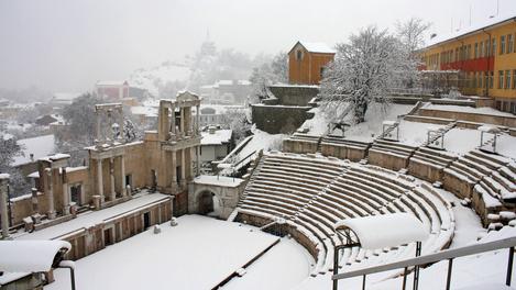 Anfiteatro em Plovdiv, Bulgária