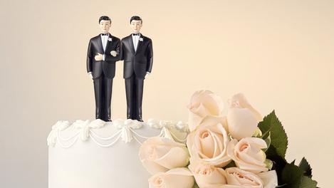 Hum...bolo de casamento é tudo de bom!
