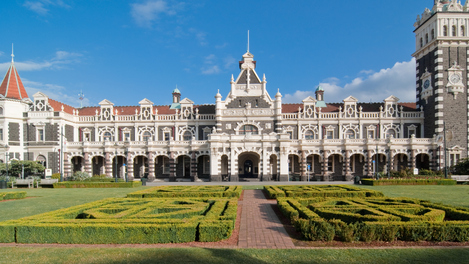Dunedin: até a estação de trem é bonita!