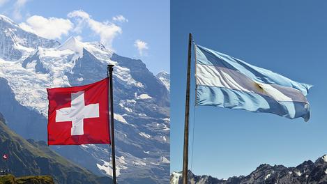 Suíça ou Argentina?