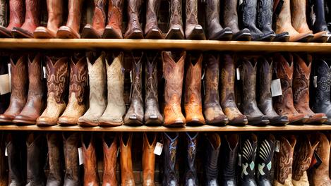 Botas de cowboy: as melhores estão no Texas!
