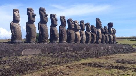 Tão bonito que assusta: Moai, Ilha de Páscoa