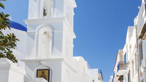 Torre tradicional da ilha de Tinos