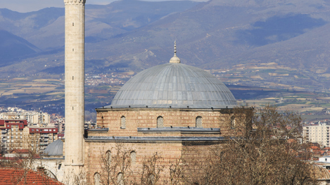 Mesquita Mustafa Pasha, en Skopje