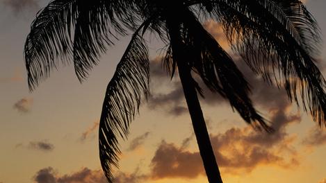 Paisagem de St. Eustatius