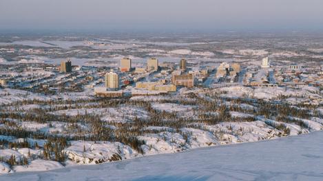 Yellowknife, Territórios do Noroeste
