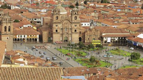 Praça central de Cuzco