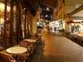 Rue Mouffetard à noite