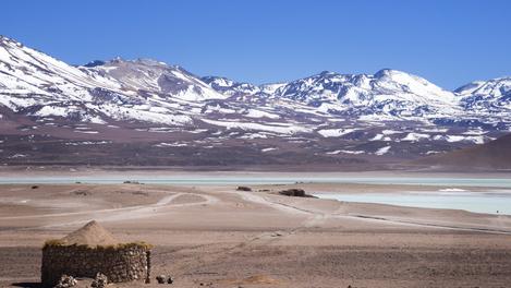 Andes e White Lagoon, Bolívia