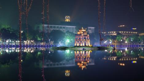 Ho Hoan Kiem, Hanoi, Vietnã