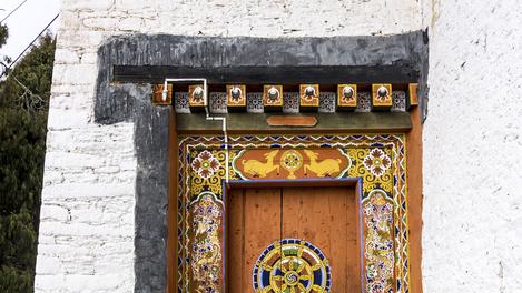 Dzong of jakar, Butão