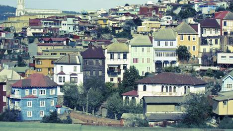 Panorama de Valparaíso, Chile