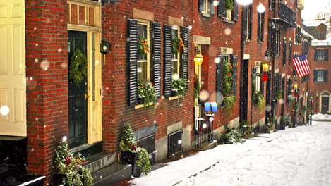 Inverno em Boston