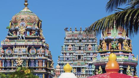 Templo hinduísta em Fiji
