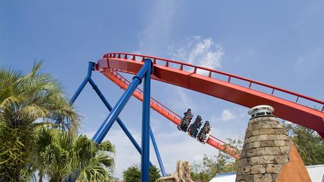 Parque de diversões na Flórida