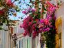 Cidadezinha na região de Algarve