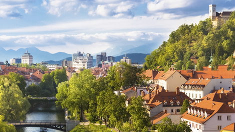 Liubliana, na Eslovênia