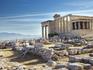 Vista para o Partenon, em Atenas
