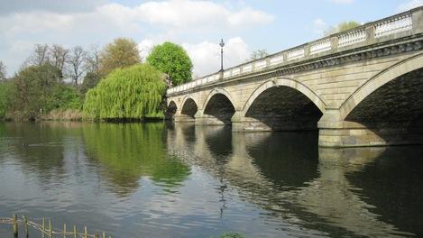 Ponte no Hyde Park/Kensington Gardens