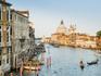Grande Canal e Santa Maria della Salute ao fundo