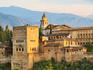 Vista para o palácio de Alhambra