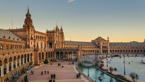 Sevilha, na Espanha