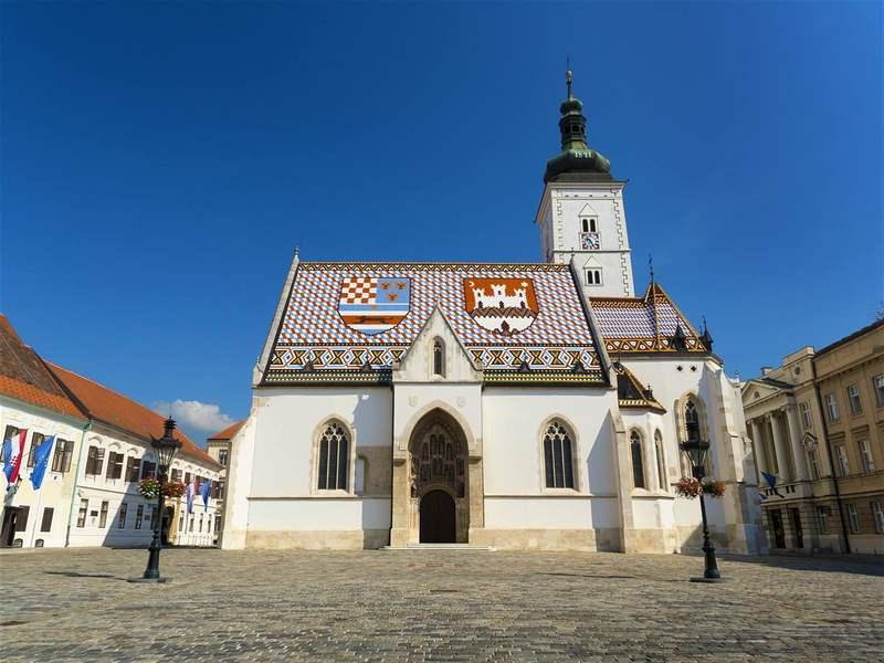 A Igreja de São Marcos é um dos edifícios mais bonitos de Zagreb © Apex Photos  Getty Images