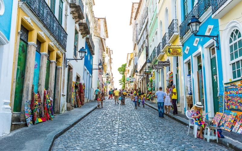 Salvador na Bahia é a terceira cidade mais populosa do Brasil, com quase 3 milhões de habitantes
