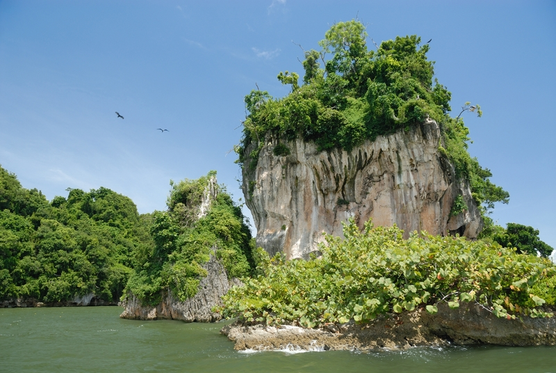 Uma joia verdejante no norte da República Dominicana, Los Haitises tornou-se um parque nacional em 1976