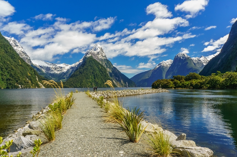A oitava maravilha do mundo? Foi o que pensou Rudyard Kipling: Milford Sound, na costa oeste da Ilha Sul da Nova Zelândia