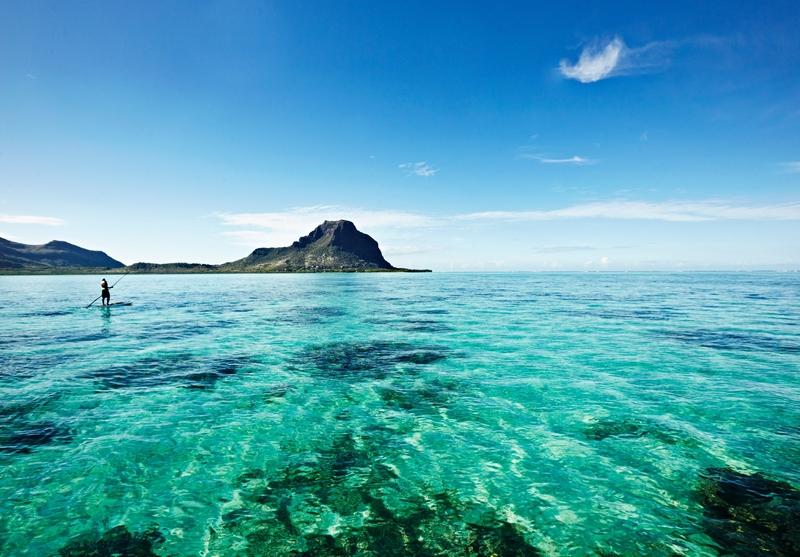O mar de tirar o fôlego das Ilhas Maurício; a nação insular comemora este ano os 50 anos da independência do Reino Unido