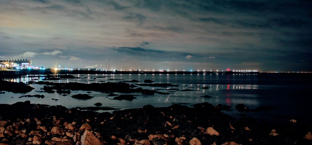 Dun Laoghaire at Night