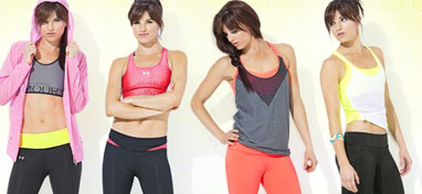 Browse women's sports apparel