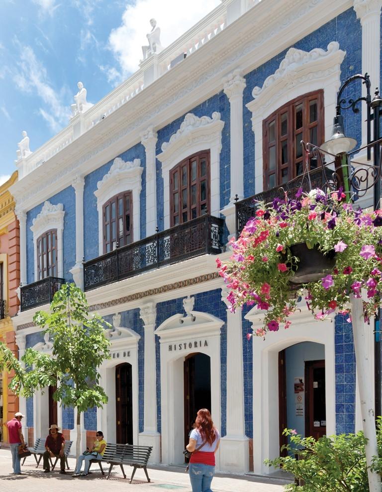 Conoce tabasco for Casa de los azulejos historia