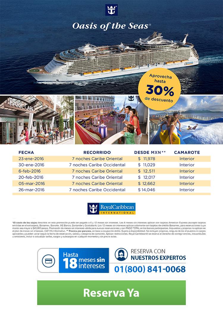 Oasis of the sea 30 - Nosotros te llamamos ...
