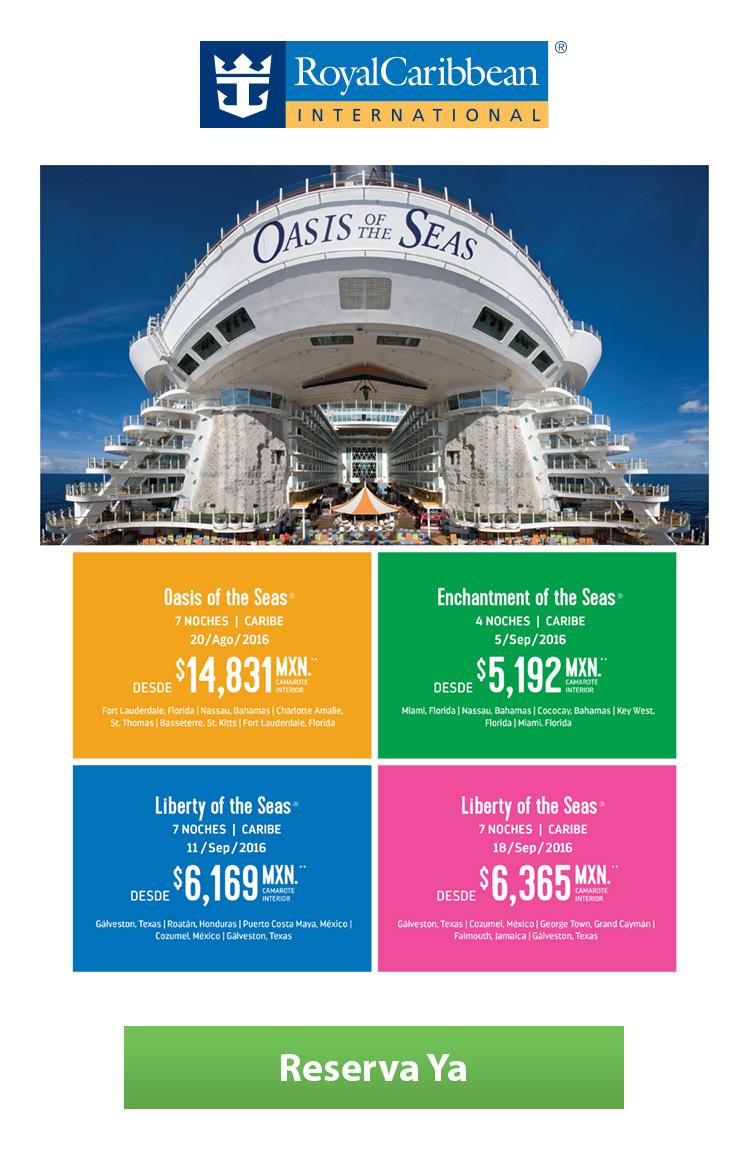 Cruceros royal caribbean - Nosotros te llamamos ...
