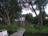 Au bord du lac Magog